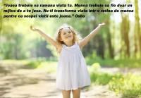 Charming little girl enjoying summer sunny day, raises his hands